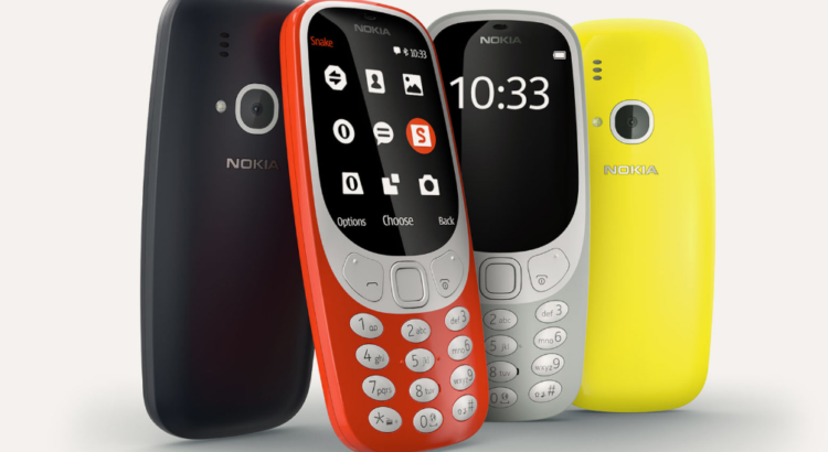 Nokia 3310 presentado en el Mobile World Congress
