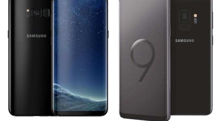 Samsung Galaxy S8 vs S9