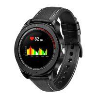 Smartwatch COOL Bristol Correa Piel (Temp. Corporal, Podómetro, Pulsómetro)