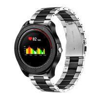 Smartwatch COOL Bristol Silver Metal Edition (Temp. Corporal, Podómetro, Pulsómetro)