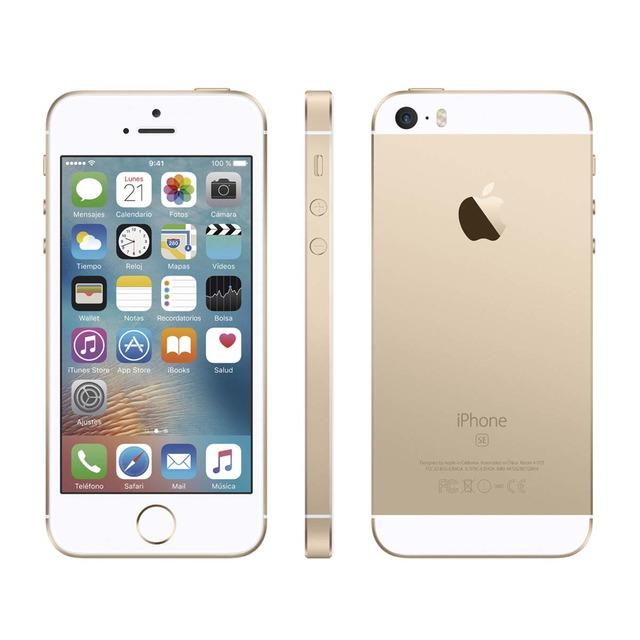 iPhone SE 64GB - Blanco-Oro