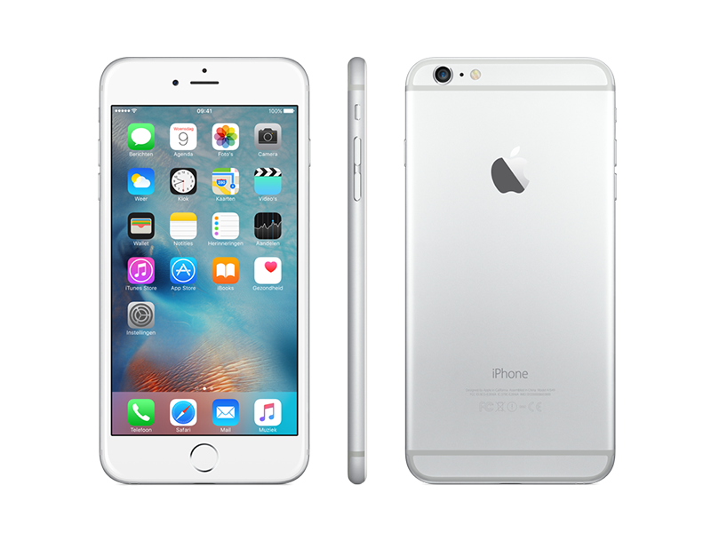 iPhone 6 16gb - Blanco - Plata