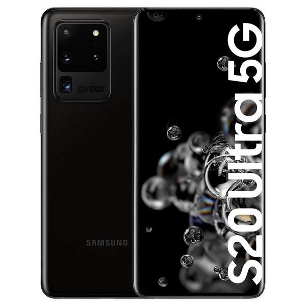 Samsung Galaxy S20 Ultra 5G 128GB - Negro