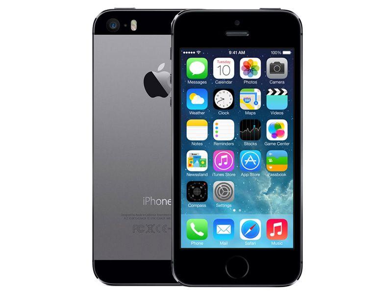 Iphone 5S 16GB usado - Negro-Gris Space