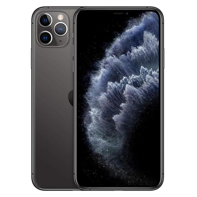 iPhone 11 Pro Max 64GB - Negro-Gris Space