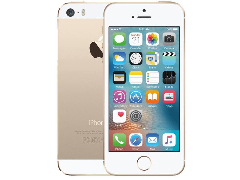 iPhone 5S 16gb - Blanco-Oro