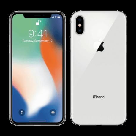 iPhone X 256GB - Plata
