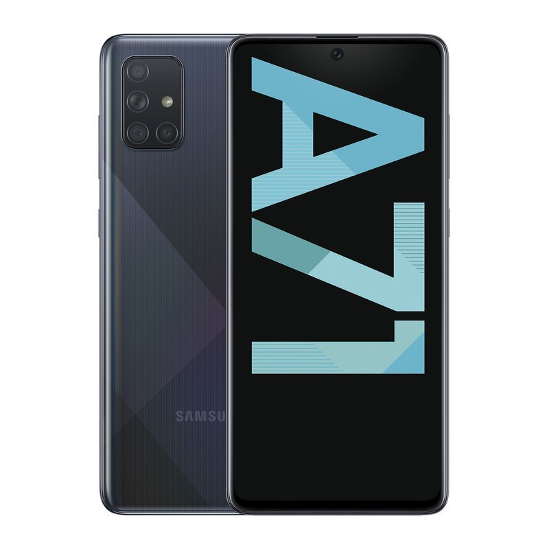 Samsung Galaxy A71 128GB - Negro