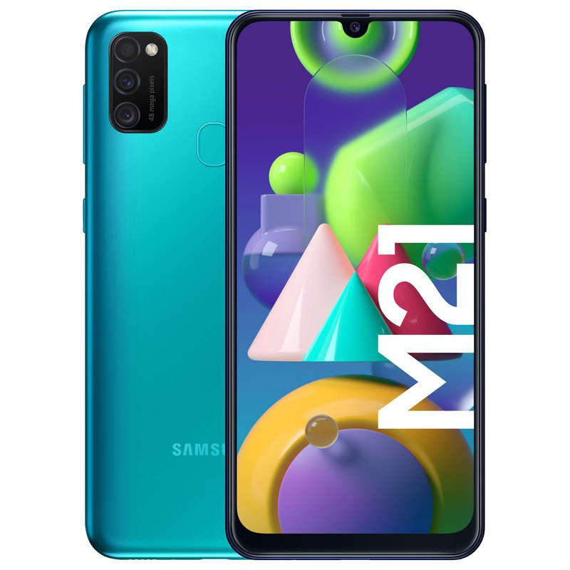 Samsung Galaxy M21 64GB - Verde
